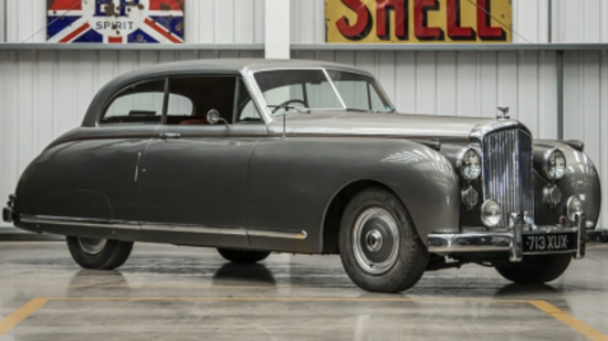 "1949 Bentley MkVI two-door Coupe with ""New Look"" bodywork by James Young"