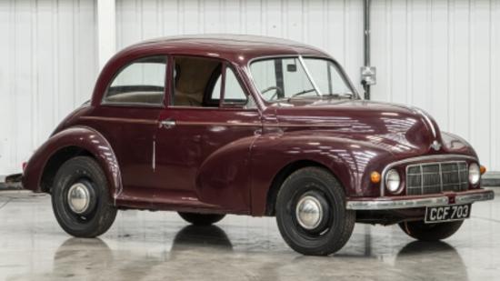 1950 Morris MM 2-door Saloon (Lowlight)
