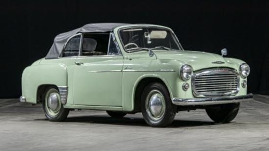 1953 Hillman Minx Mk VI Convertible