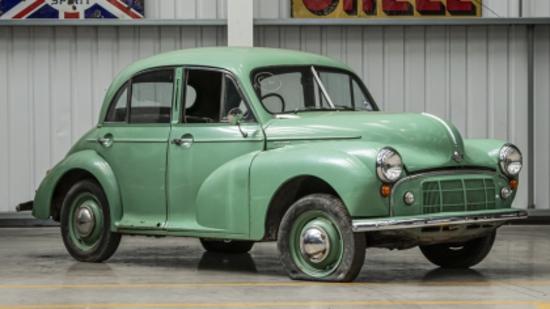 1951 Series MM (Highlight) Four-door Saloon