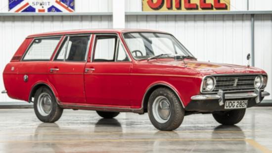 1970 Ford Cortina Mark 2 1600 GT Estate