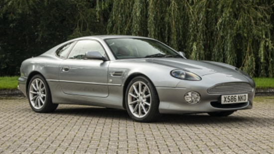 2000 Aston Martin DB7 V12 Vantage Manual