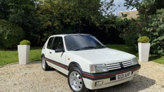 1989  Peugeot 205 GTi (Phase 1.5)