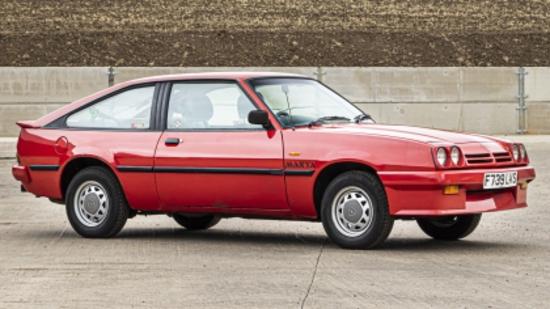 1989 Opel Manta 1.8S Exclusive