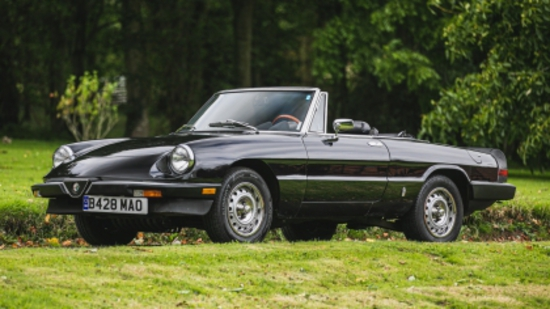 1985 Alfa Romeo 2.0 S3 Spider 'Graduate'