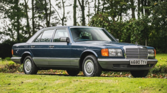 1984 Mercedes-Benz 280SE Automatic (W126)