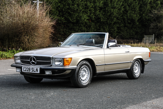 1985 Mercedes-Benz SL280 (R107)