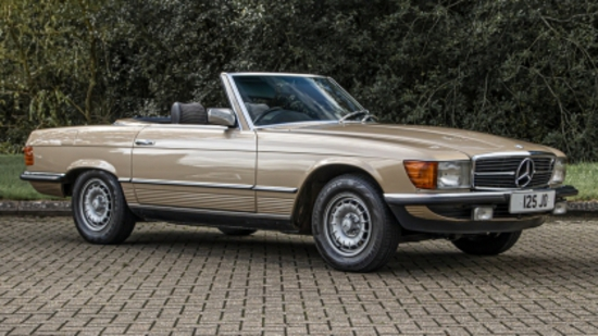 1981 Mercedes-Benz 280SL (R107)