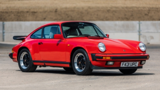 1988 Porsche 911 3.2 Carrera Sport Coupe