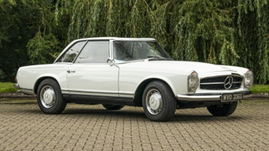 1968 Mercedes-Benz 280SL (W113) California Coupe - Manual