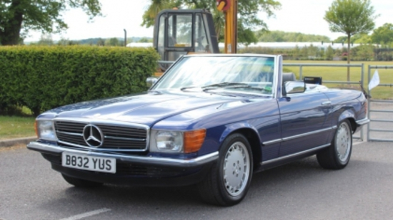 1985 Mercedes-Benz 500SL (R107)