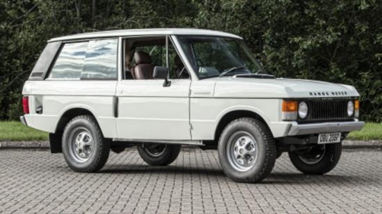 1976 Range Rover Suffix D