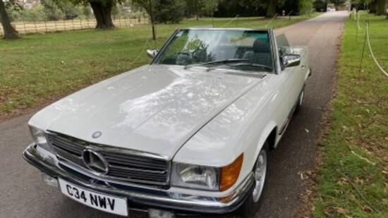 1985 Mercedes-Benz 280SL (R107)