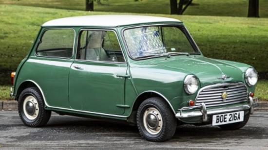 1963 Morris Mini Cooper S 1071