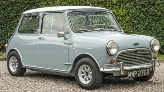 1966 Austin Mini Cooper Mk1 998cc