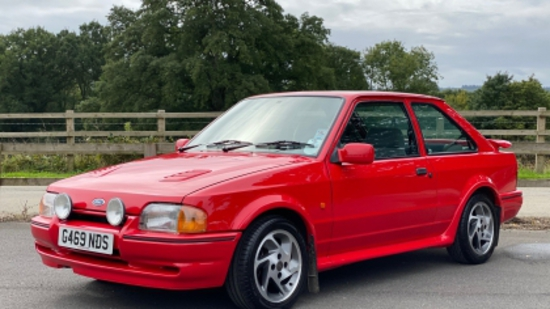 1989 Ford Escort RS Turbo S2