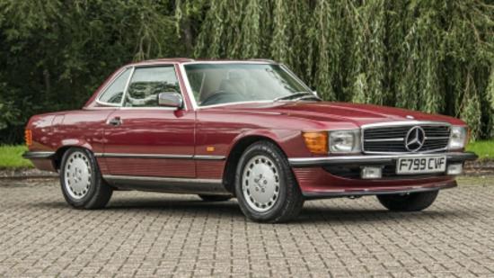 **REGRETFULLY WITHDRAWN**1989 Mercedes-Benz 300SL (R107)