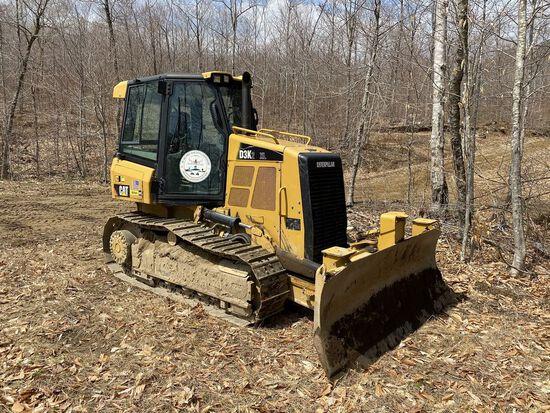 2014 Caterpillar Track Dozer #D3K2XL w/ 8' Plow, CAT 4.4 ACE RT Diesel Engine, HRS: 1926, PIN#: