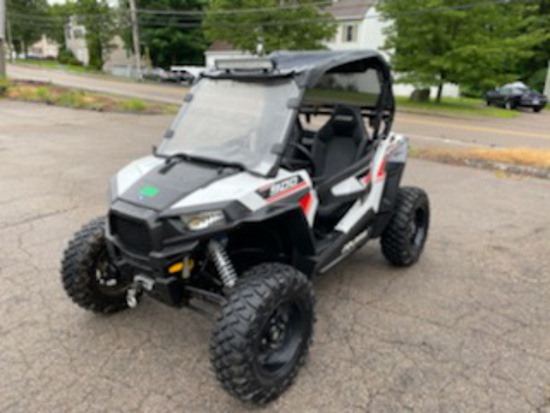 2016 Polaris RZR 900S Side By Side ATV Gas Fuel Injected Odom: 1,267 Sound Bar, Winch, After Market