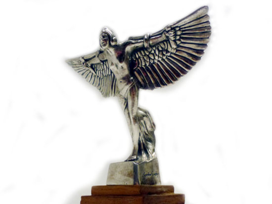 An Icarus Mascot, by Frederick Gordon Crosby, for Bentley Motors, 1920s