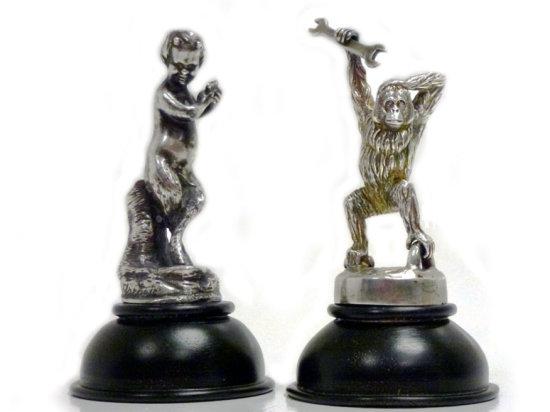 Two Rare Accessory Mascots
