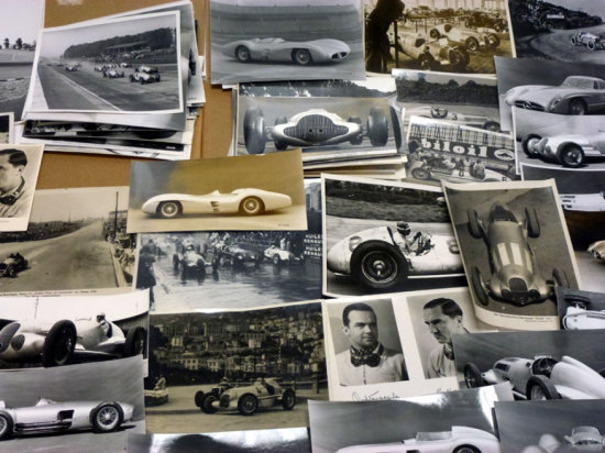 A Small Archive of Mercedes-Benz Racing Photographs