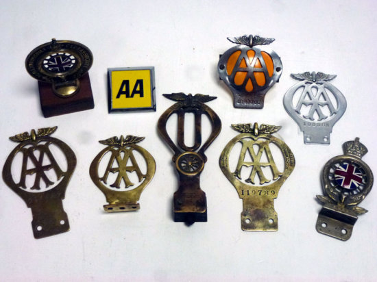 A Small Collection of Car Club Badges