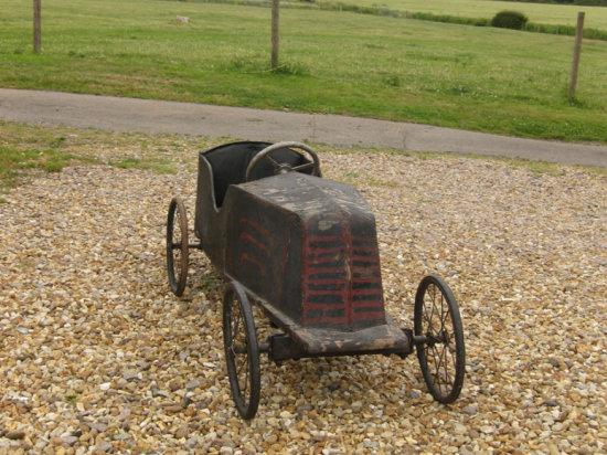 A Renault Pedal Car, c1920s **