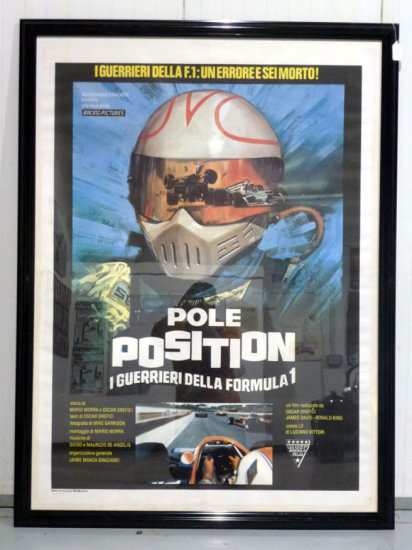 Two Large Framed and Glazed Movie Posters **