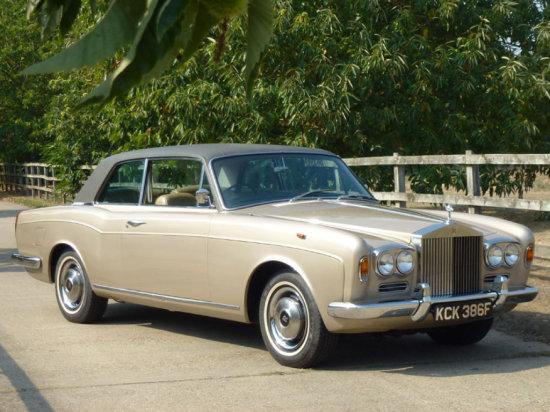 1968 Rolls-Royce Silver Shadow MPW