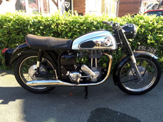 1960 Norton ES2