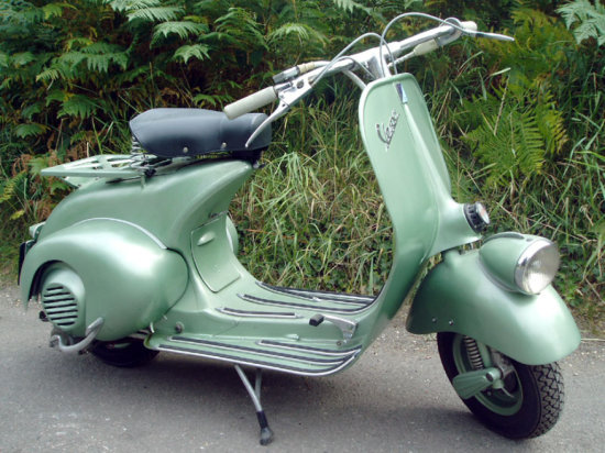 1951 Vespa 125 'Low Light'