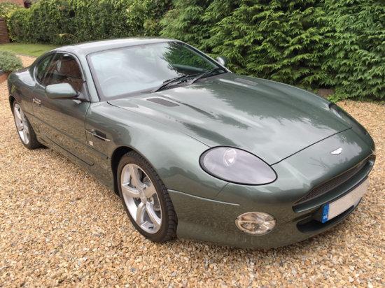 2003 Aston Martin DB7 V12 GTA