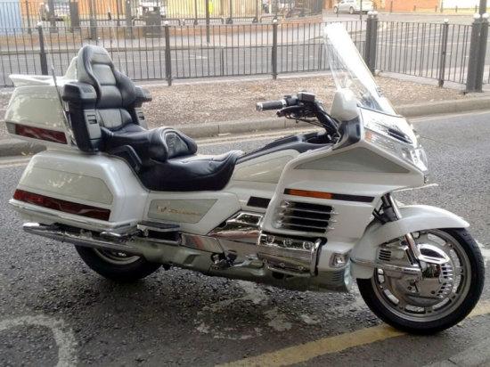 2000 Honda GL1500SE Gold Wing