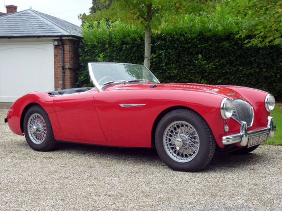 1955 Austin-Healey 100 Modified to M Specification
