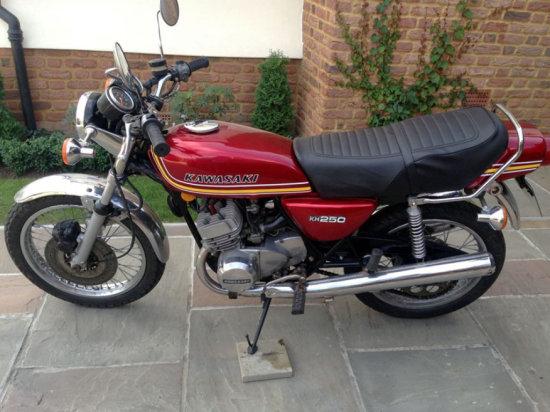 1979 Kawasaki KH250