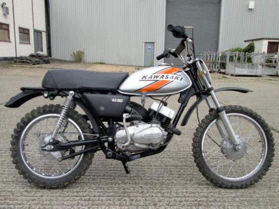 1976 Kawasaki KD80-A2