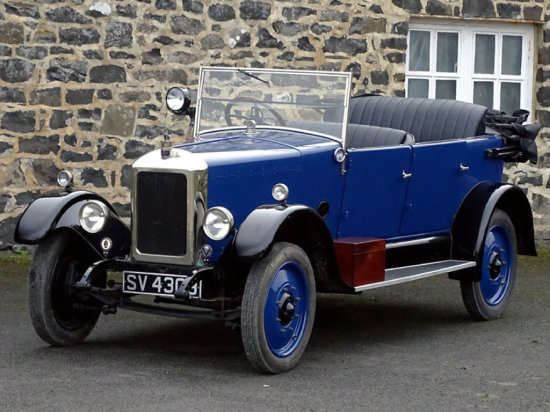 1925 Armstrong Siddeley 14hp MK II Cotswold Tourer