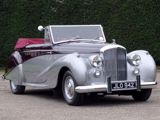 1947 Bentley MK VI Vanden Plas Drophead Coupe