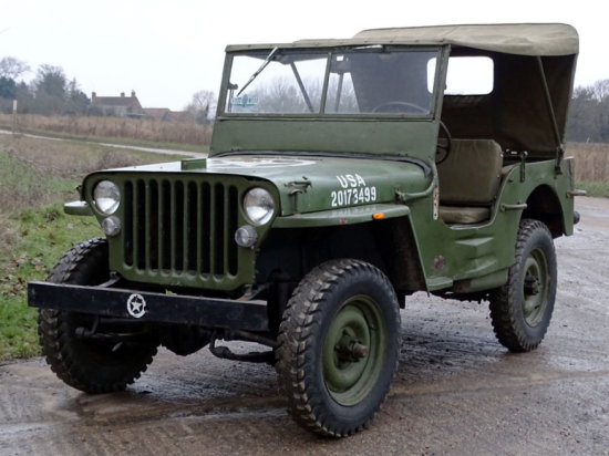 c.1941 Willys MB Jeep 'O.A.R.E.'