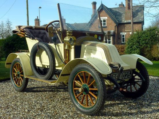 1909 Renault AX Tourer