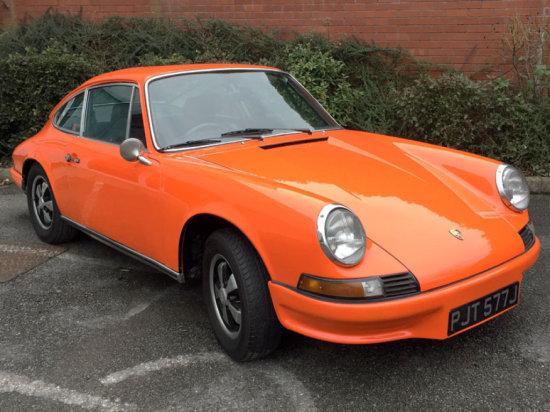 1971 Porsche 911 T Sportomatic