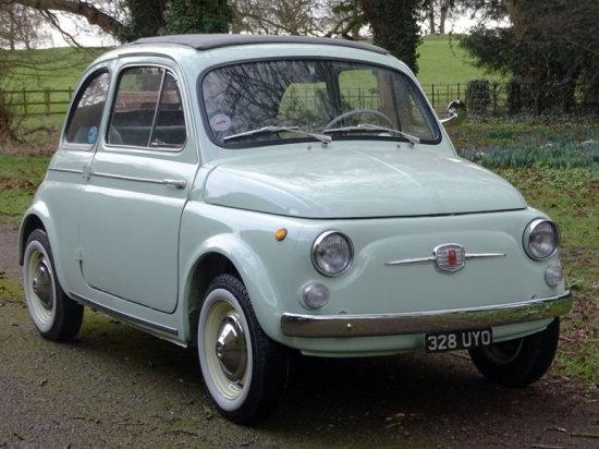 1962 Fiat 500 D Trasformabile