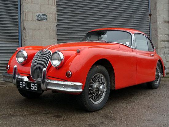 1958 Jaguar XK150 SE 3.4 Litre Fixed Head Coupe
