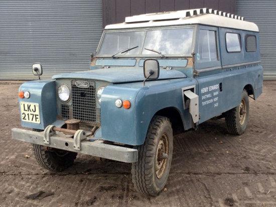 1967 Land Rover 109 Series IIA