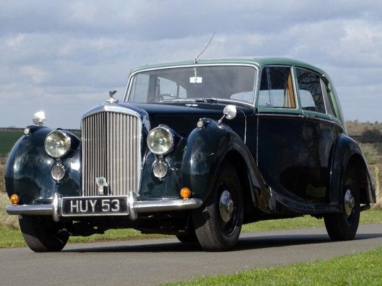 1949 Bentley MK VI H.J. Mulliner Saloon