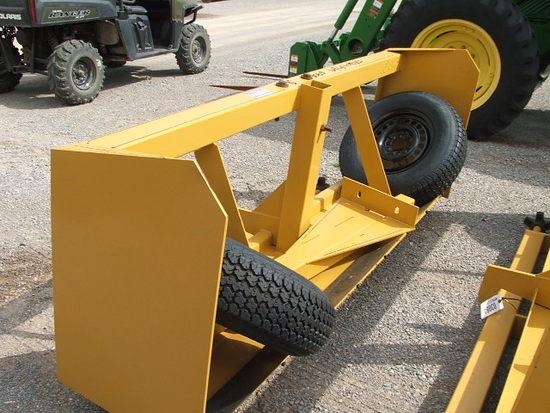 New 8' Land Leveler w/Cyl & Hoses   Heavy Construction