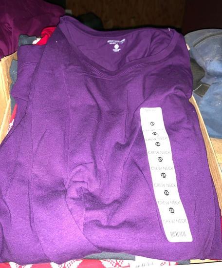 5 New Long Sleeve Crew Neck Shirts size 3x