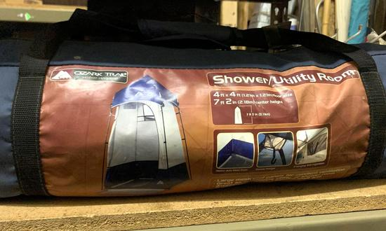 Ozark Trail Shower/ Utility Room