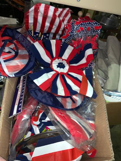 Lot of NEW 4th of July Party Deco